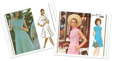 Fashion Capes 1960 on Vintage Vogue Paris Original Patterns   Fall Sale    Thebestinvintage