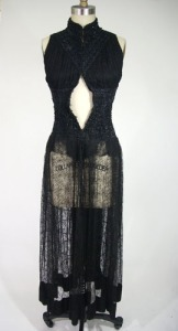 Late Victorian Overdress