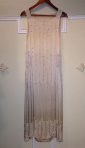 1920's Silk Evening Gown