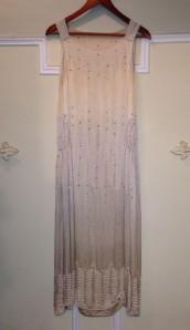 1920's Silk Evening Gown