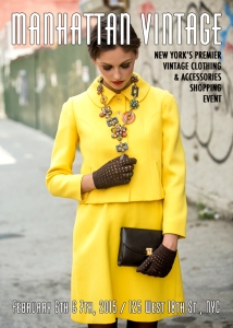 Manhattan Vintage Clothing Show